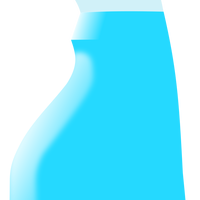 Squirt Bottle vector clipart