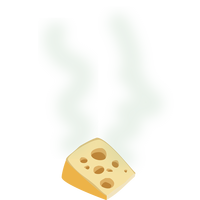 Stinky Cheese Vector Clipart