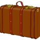 Suitcase Vector Art