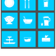 Tableware Icons Vector Clipart