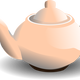 Tea Pot Vector Clipart