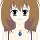 Teenage Anime Girl Vector Clipart