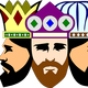 Three Kings Vector Clipart