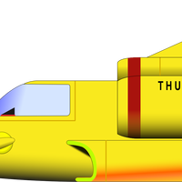 Thunderbird 4 Vector Clipart