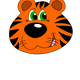 Tiger Face Vector Clipart