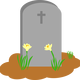 Tombstone and Grave Vector art