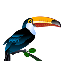 Toucan Vector Art