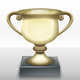 Trophy Cup vector clipart