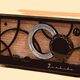 Vacuum Tube Radio vector clipart