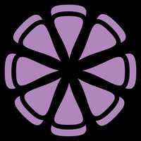 Purple Flower Vector