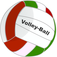 Volleyball Vector Clipart