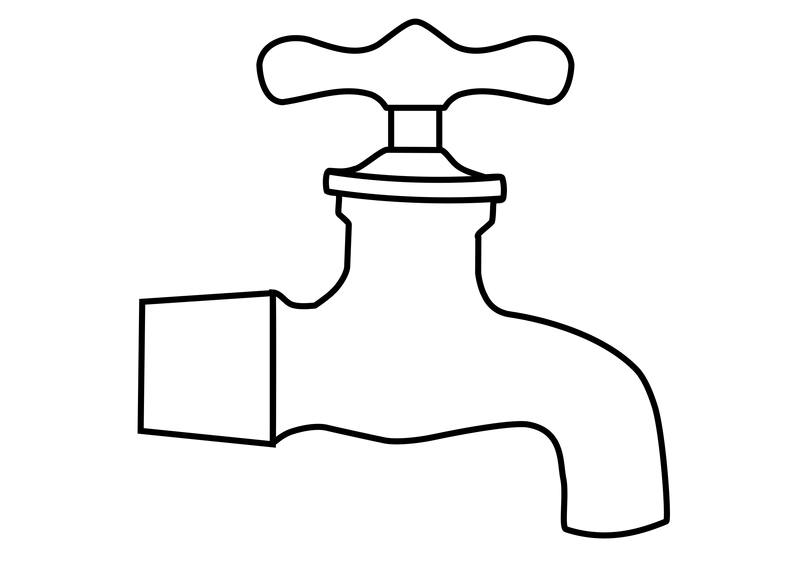 Water Faucet Vector Clipart image - Free stock photo - Public Domain ...