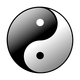 Yin Yang Vector Graphic