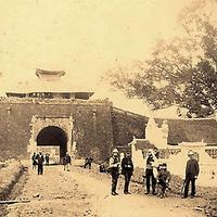 North gate of Hanoi Citadel in the 19th century, Vietnam