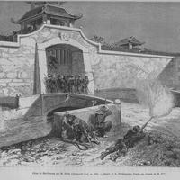 France attack Hai Duong citadel in Hanoi, Vietnam