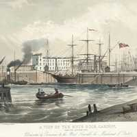 Jubilee Dock in 1849