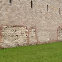 Wall of Cardiff Castle
