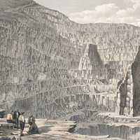 Penrhyn State Quarries in 1852