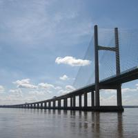 Second Severn Crossing on the M4 motorway.
