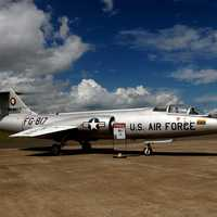 Lockheed F-104A Starfighter fighter