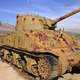 Sherman Tank closeup